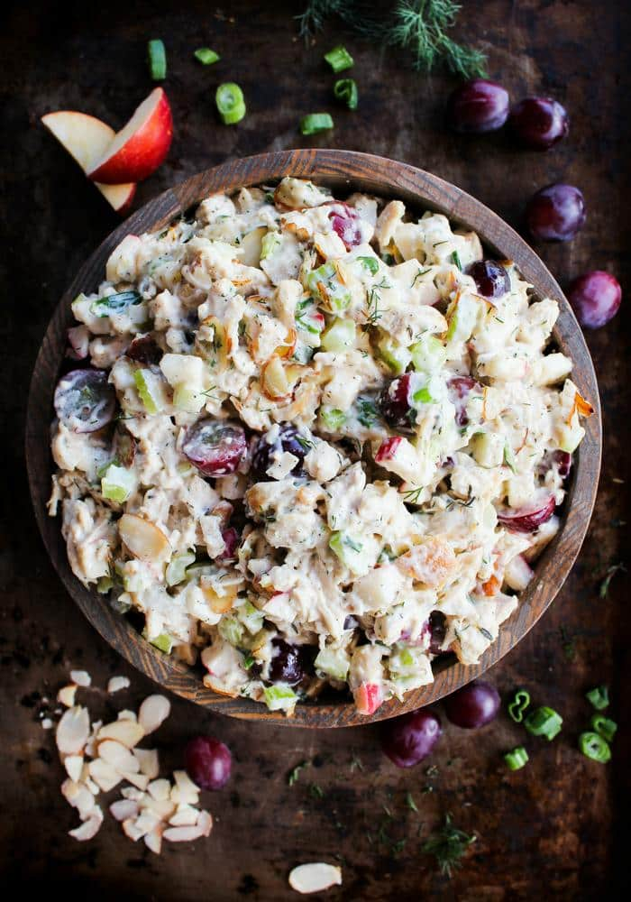 Ultimate Chicken Salad by The Whole Cook vertical