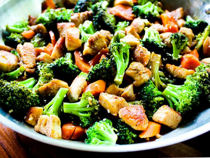 Easy Chicken & Broccoli Stir Fry by The Whole Cook horizontal