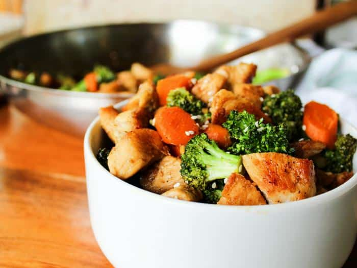 Easy Chicken & Broccoli Stir Fry by The Whole Cook horizontal(1)