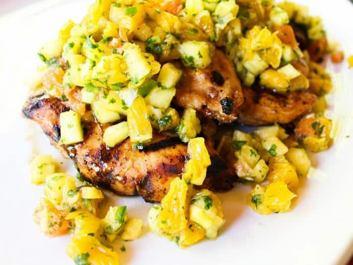 Tropical Salsa Grilled Chicken by The Whole Cook horizontal(3)