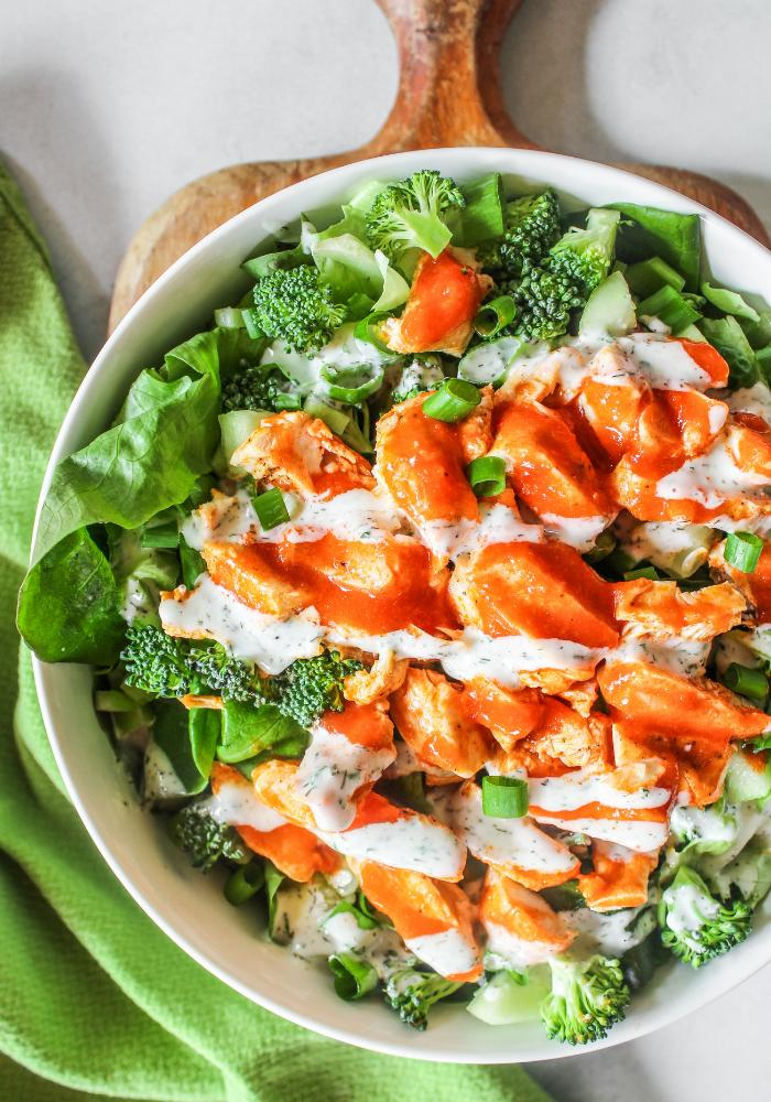 Buffalo Grilled Chicken Salad The Whole Cook