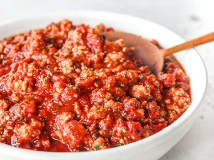 The Easiest Homemade Spaghetti Sauce The Whole Cook