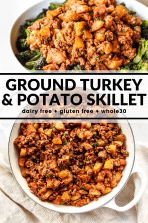 Ground Turkey Potato Skillet The Whole Cook