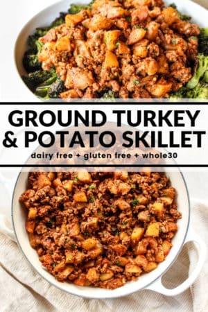 Ground Turkey Potato Skillet The Whole Cook